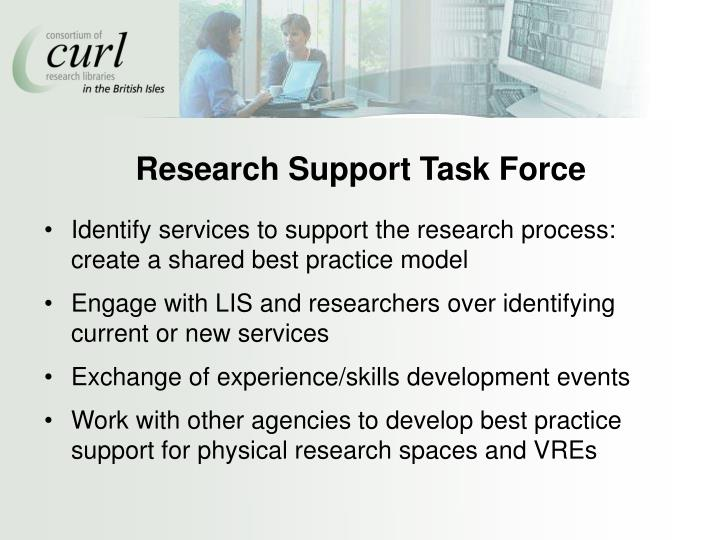 Research Support Task Force