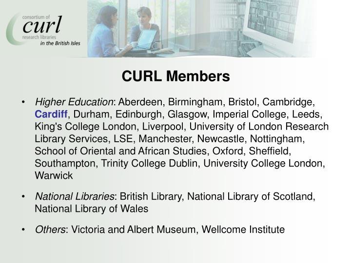CURL Members