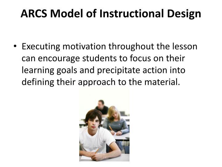 ARCS Model of Instructional Design