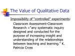 the value of qualitative data4