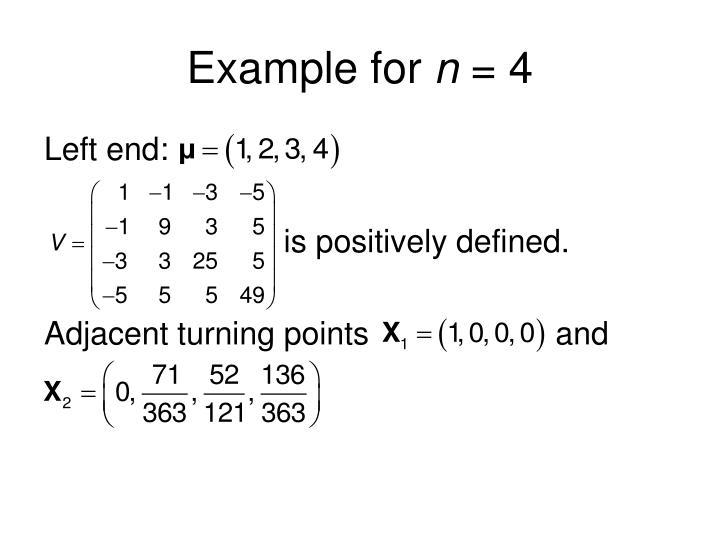 Example for