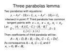 three parabolas lemma1