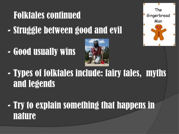 Folktales continued