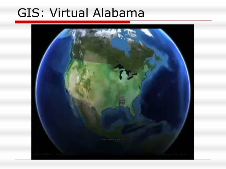 GIS: Virtual Alabama