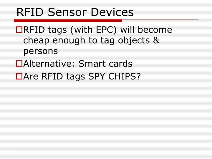 RFID Sensor Devices
