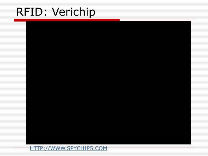 RFID: Verichip