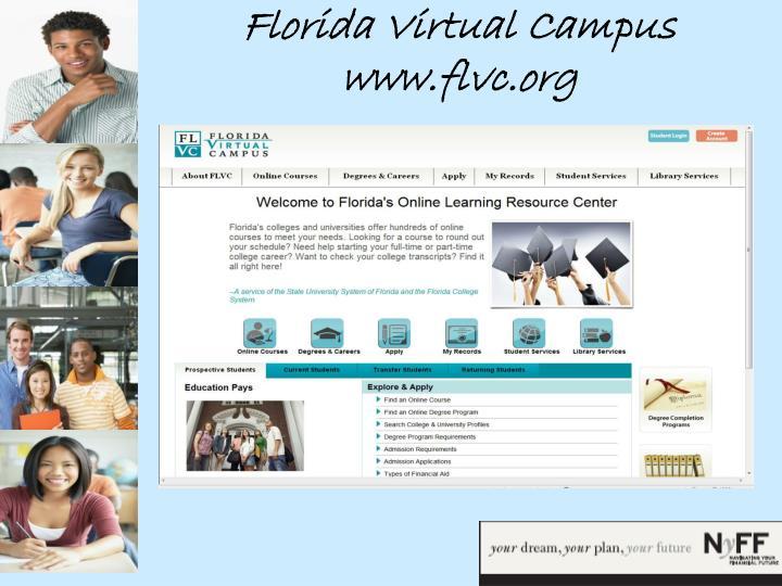 Florida Virtual Campus www.flvc.org