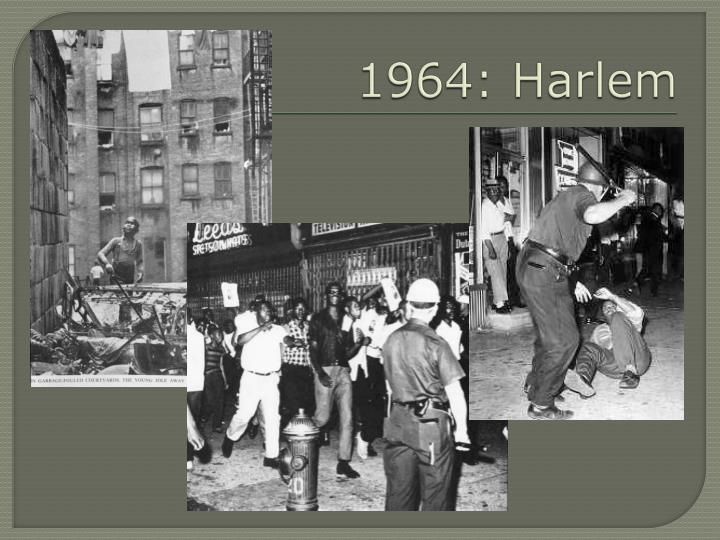 1964: Harlem
