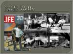 1965 watts