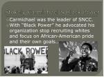 stokely carmichael black power