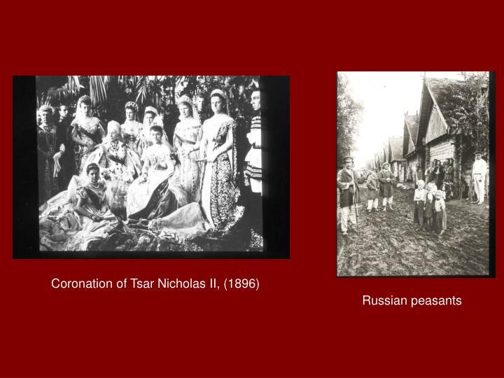 Coronation of Tsar Nicholas II, (1896)