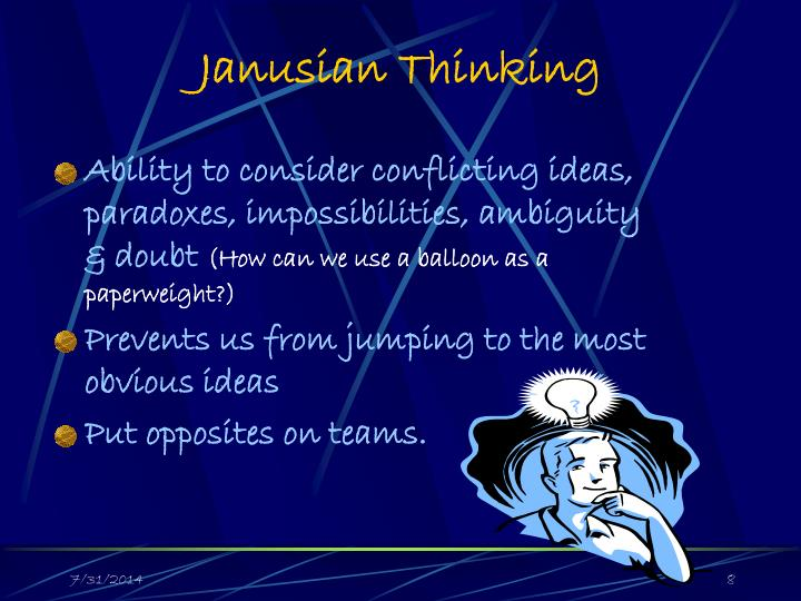 Janusian Thinking