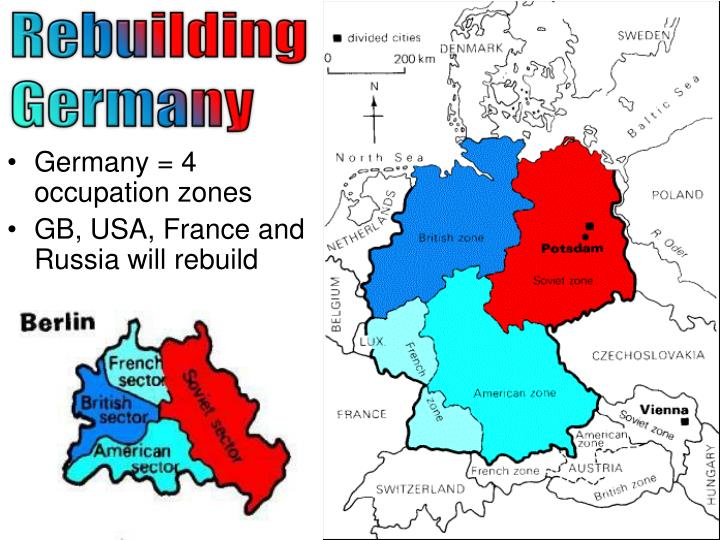 Ppt chronicle the events that led to victory for the for Germany rebuilding after ww2