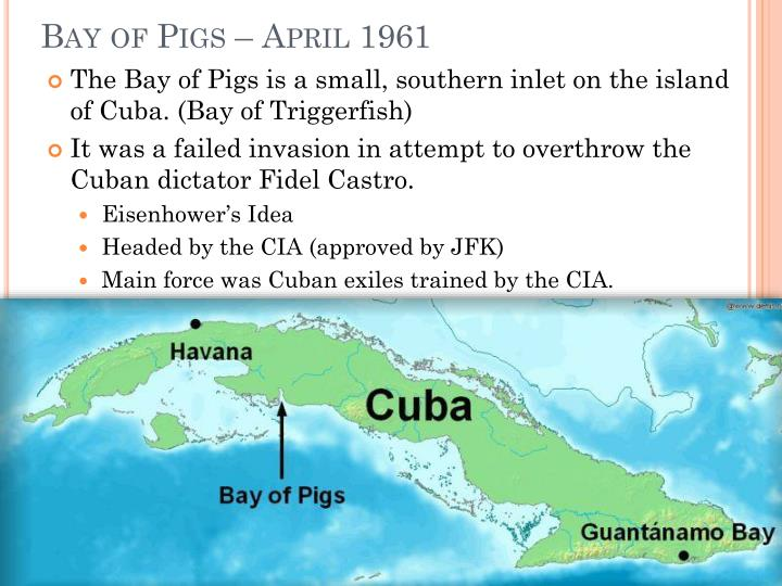an analysis of the main reason of the bay of pigs invasion in the cold war Best answer: the bay of pigs fiasco and the cuban missile crisis escalated the cold war a little history on bay of pigs [see below] the invasion of.