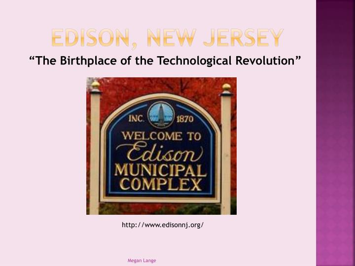 Edison, New Jersey