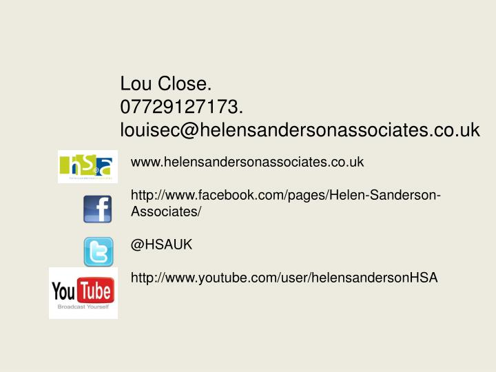www.helensandersonassociates.co.uk