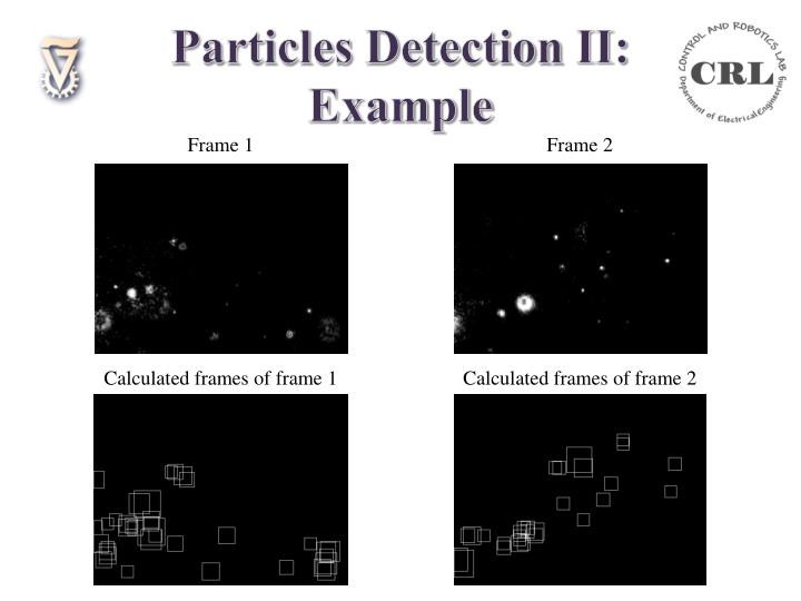 Particles Detection