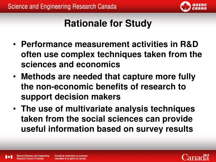 Performance measurement activities in R&D often use complex techniques taken from the sciences and economics