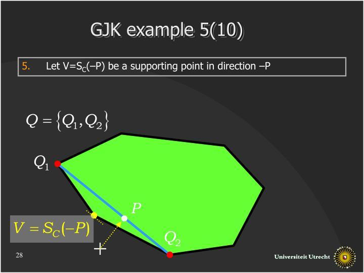 GJK example 5(10)