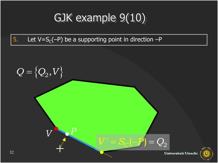 GJK example 9(10)