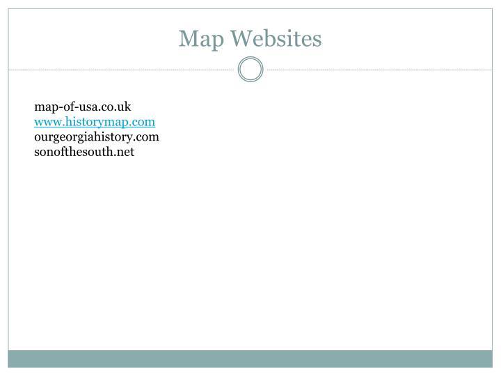 Map Websites
