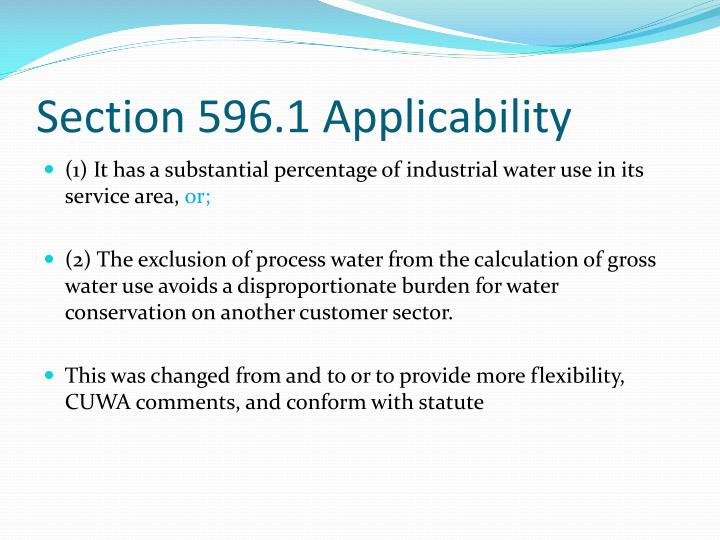 Section 596.1 Applicability
