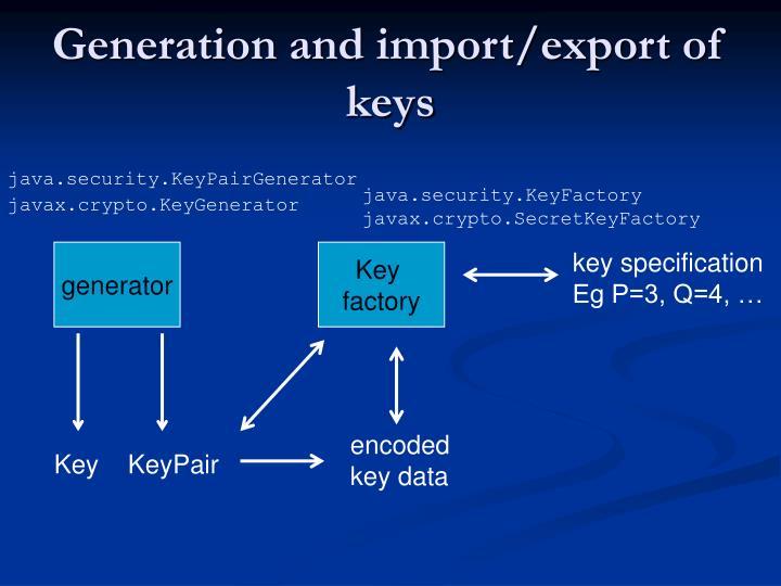 java.security.KeyFactory