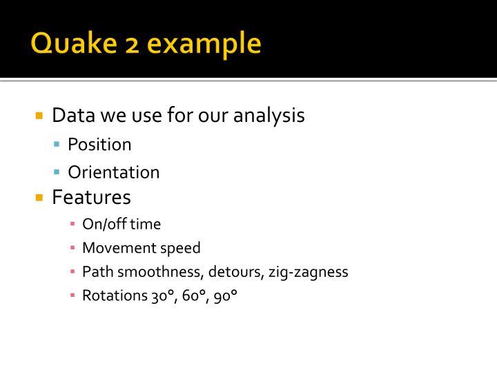 Quake 2 example