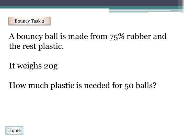 Bouncy Task 2