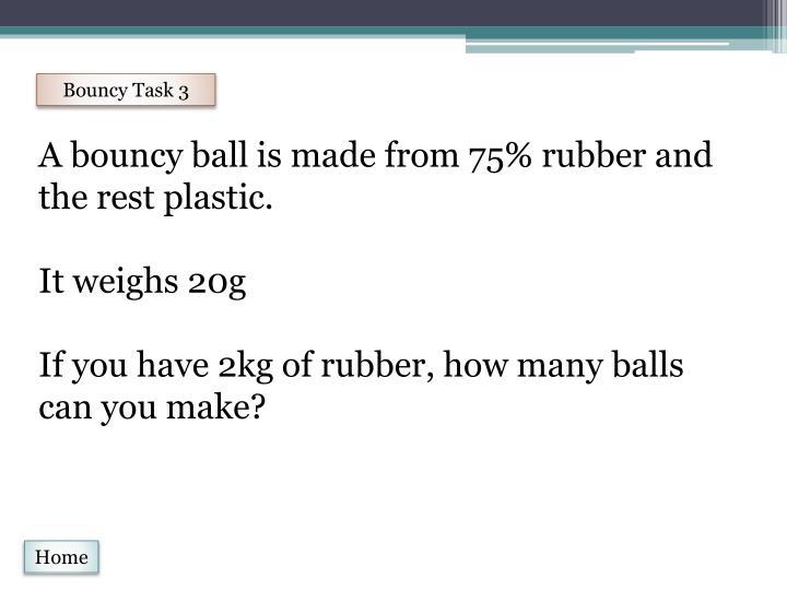 Bouncy Task 3