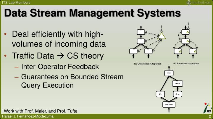 Data Stream Management Systems