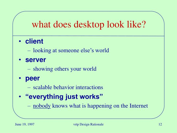 what does desktop look like?