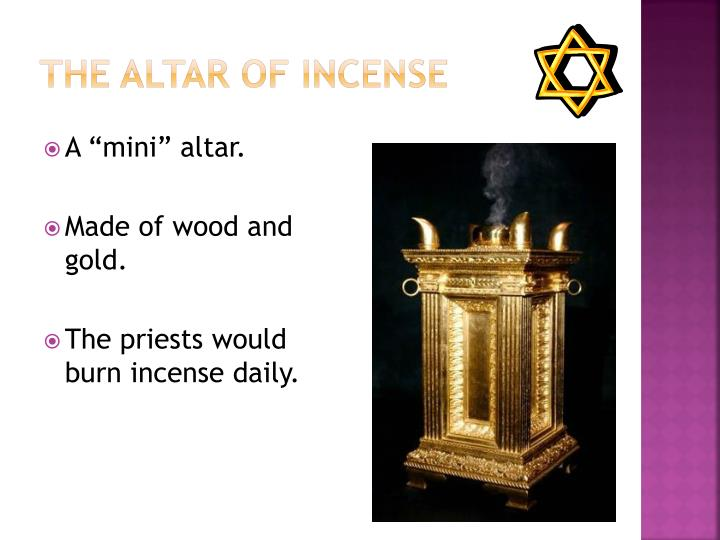 The Altar of Incense