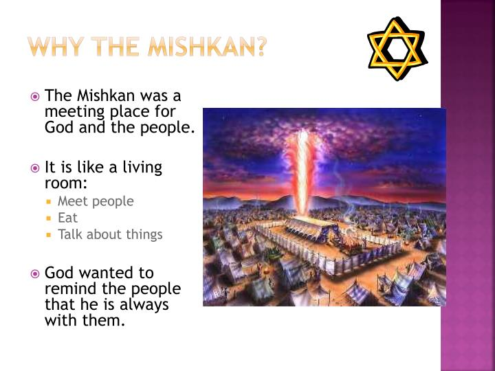 Why the Mishkan?