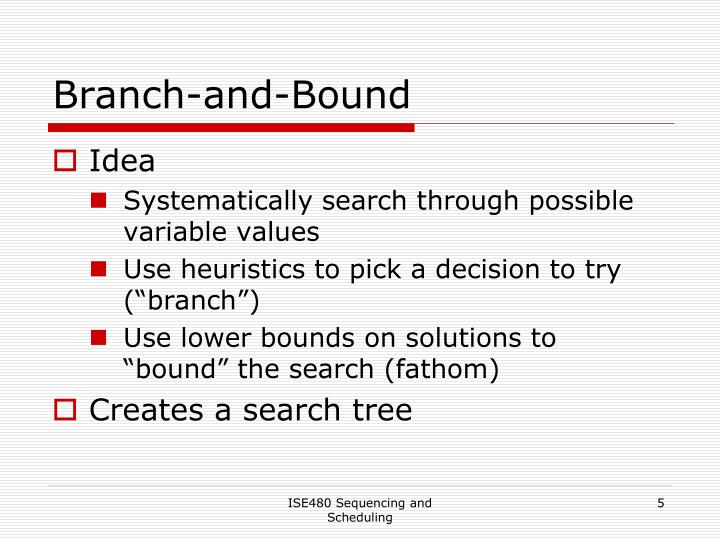 Branch-and-Bound