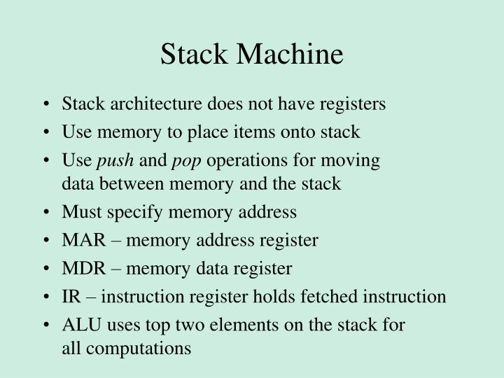 Stack Machine