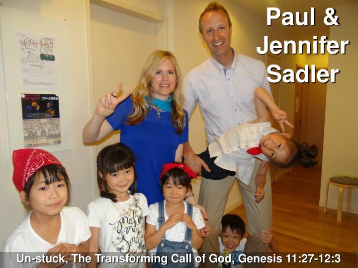 Paul & Jennifer