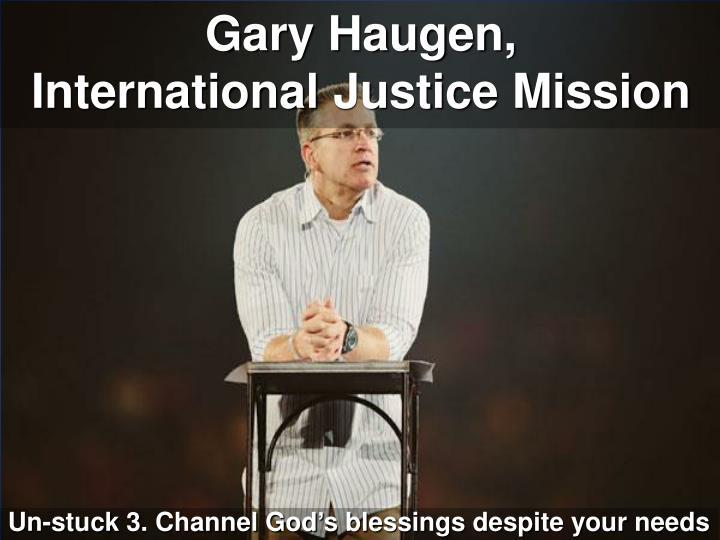 Gary Haugen,