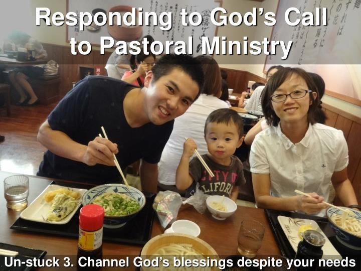 Responding to God's Call