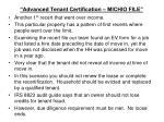 advanced tenant certification michio file