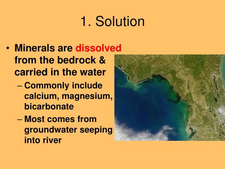 1. Solution