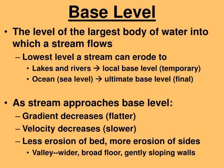 Base Level