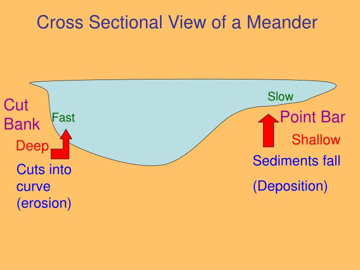Cross Sectional View of a Meander
