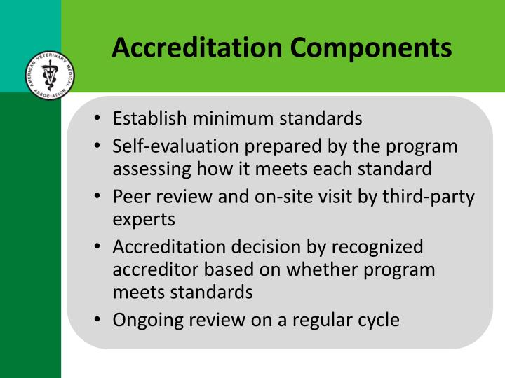 Accreditation Components
