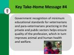 key take home message 4