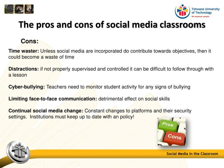 Classroom Layouts Pros And Cons ~ Ppt social media in the classroom powerpoint