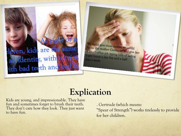 Explication