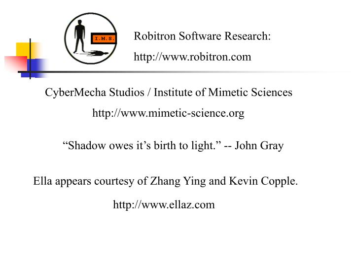 Robitron Software Research: