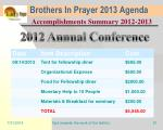 brothers in prayer 2013 agenda18