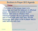 brothers in prayer 2013 agenda2